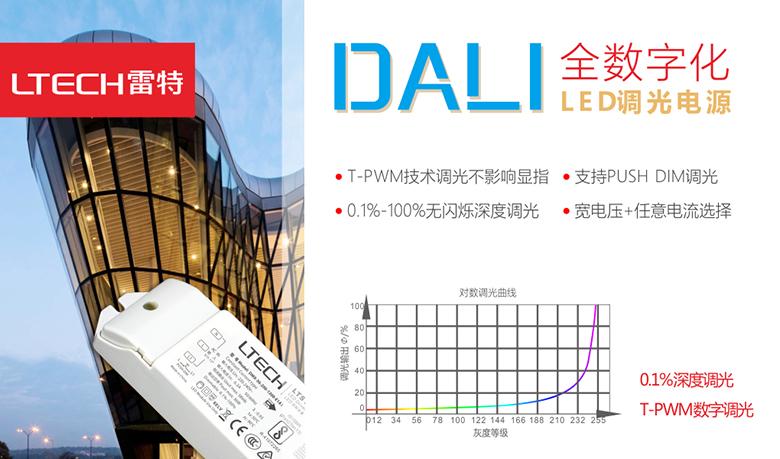 雷特加入DiiA联盟 多款调光电源通过DALI官方认证 领先同行