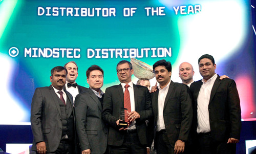 Mindstec awarded Distributor of the Year!_副本