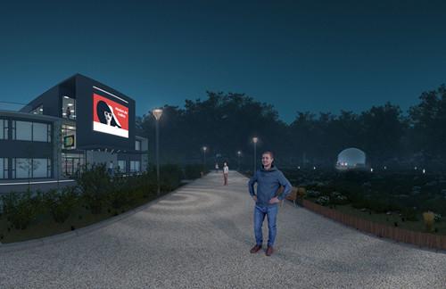 【新闻图片】借助虚拟现实(VR)技术,昕诺飞为客户提供可视化照明体验 03_副本