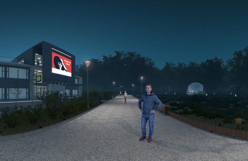 【新闻图片】借助虚拟现实(VR)技术,昕诺飞为客户提供可视化照明体验 04_副本