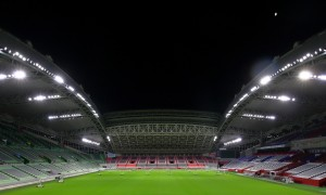 【新闻图片】为全球最大的橄榄球巡回赛,日本御崎公园体育场换装全新LED照明02