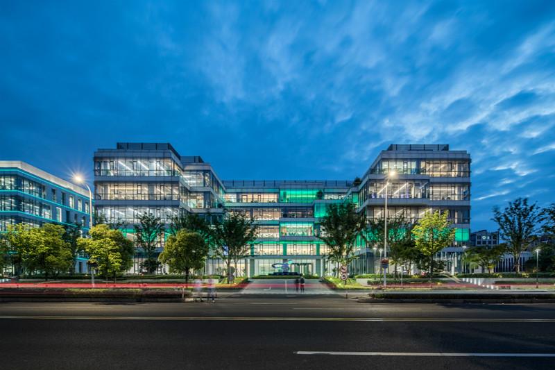 【新闻图片】昕诺飞大中华区总部办公楼,物联网照明的应用典范